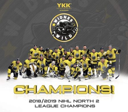 Widnes Wild NIHL 2 North Champs