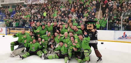 Hull Pirates NIHL North 1 Champs