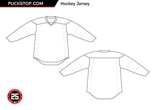Puck Stop Jersey Colouring 1