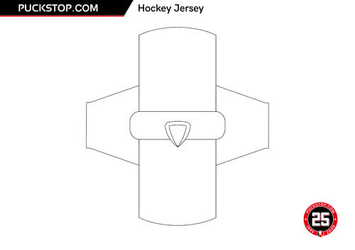 Puck Stop Jersey Colouring 2