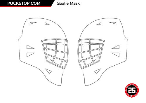 Puck Stop Mask Colouring 2