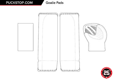 Puck Stop Pads Colouring 1