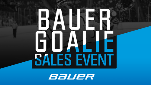 Bauer Goalie Sales Event