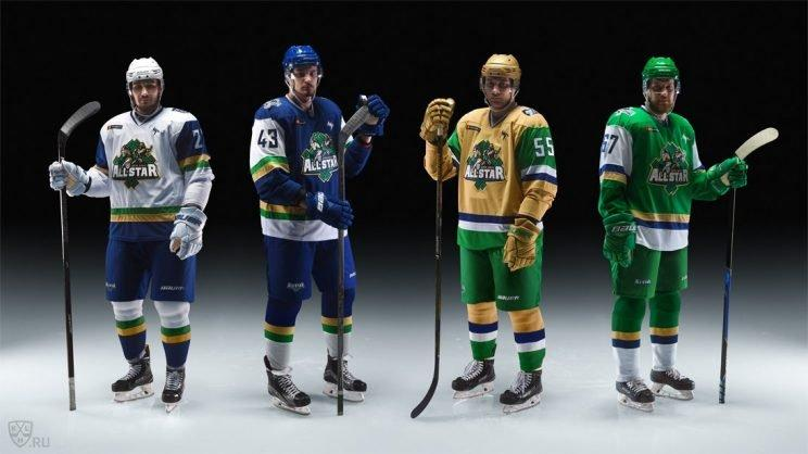 KHL All-Star uniforms
