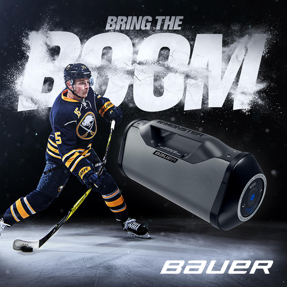 Win a Bauer Boom Box