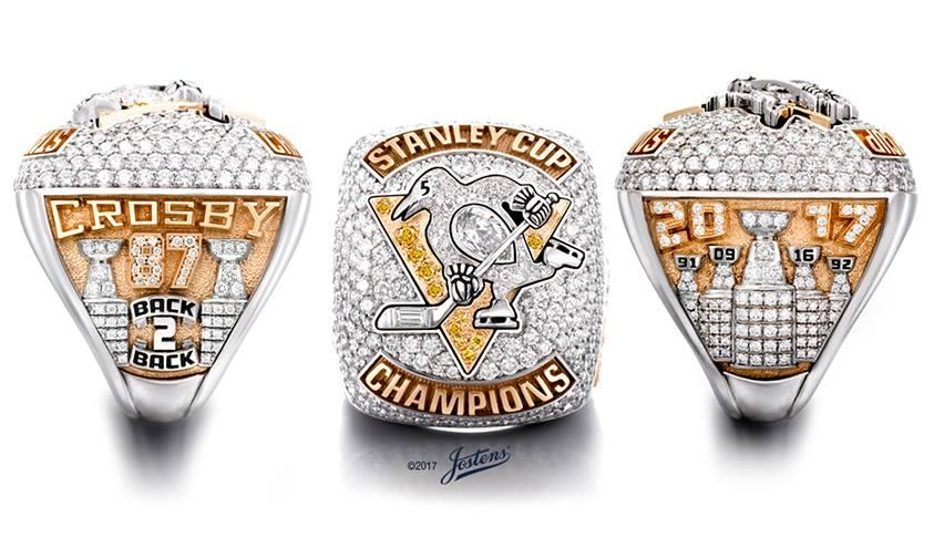 Pittsburgh Penguins 2017 Stanley Cup Ring