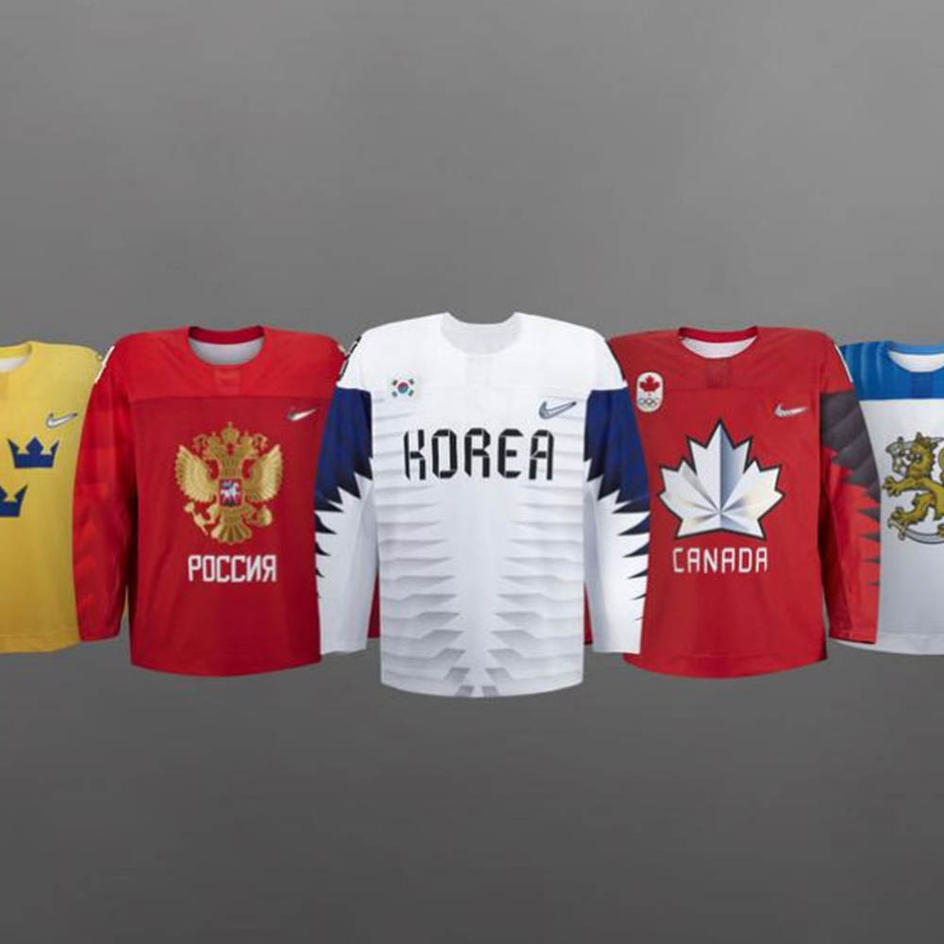 2018 Olympic Hockey Jerseys