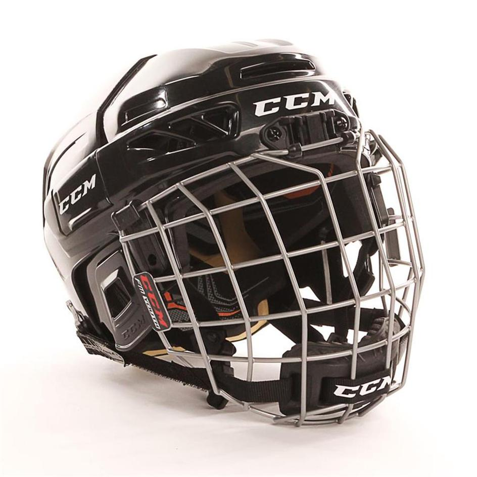 CCM Fitlite 3DS Youth Hockey Helmet Combo