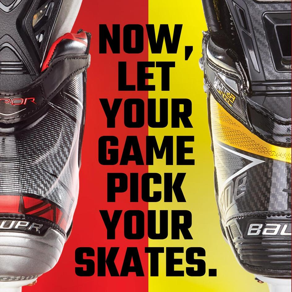 Let your game pick your skates